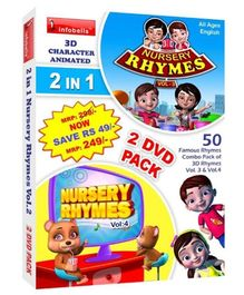 Infobells 2 In 1 Nursery Rhymes Volume 2 - 2 DVD