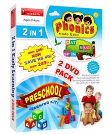 Infobells 2 In 1 Early Learning 2 DVD Pack