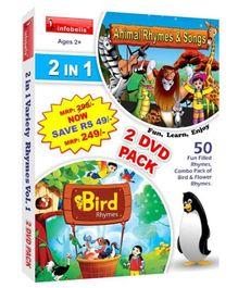 Infobells 2 In 1 Rhymes Variety 2 DVD Pack