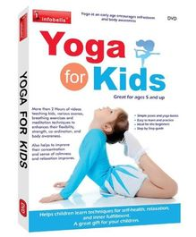 Infobells Yoga For Kids DVD - English