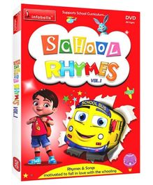 Infobells School Rhymes Volume 1 DVD