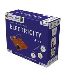 Sparky & Bright Secret Lab of Electricity 4 In 1 Kit