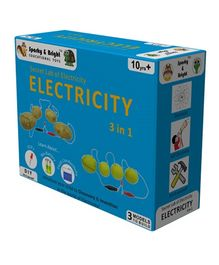 Sparky & Bright Secret Lab of Electricity 3 In 1 Kit