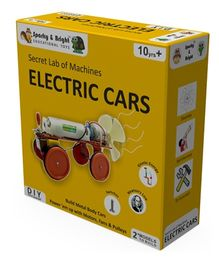 Sparky & Bright Secret Lab of Machines Electric Cars
