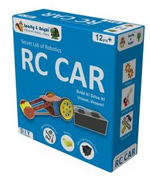 Sparky & Bright Secret Lab Of Robotics RC Car