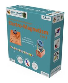 Sparky & Bright Secret Lab Of Electro Magnetism - 5 In 1 Kit