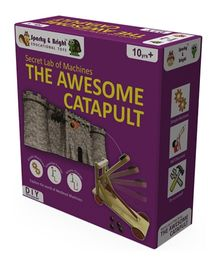 Sparky & Bright Secret Lab Of Wooden Machines - The Awesome Catapult