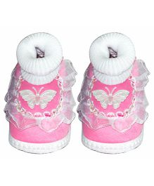 Little's Frill Booties (Color May Vary)