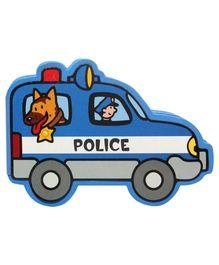 Police Block Foam Book - English