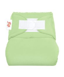 Flip Hook And Loop Stay Dry Cloth Diaper Cover Grasshopper