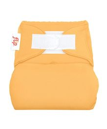 Flip Hook And Loop Stay Dry Cloth Diaper Cover Clementine