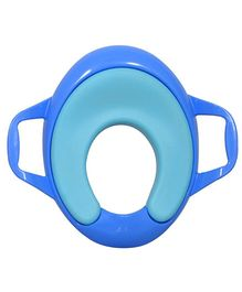 Sunbaby Ultra Soft Potty Seat With Handle - Blue