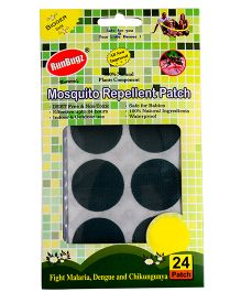 RunBugz Mosquito Repellent Patch Green - Pack Of 24