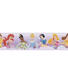RoomMates Disney Princess Dream From The Heart Border - Purple