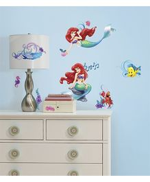 RoomMates Little Mermaid Wall Decals - 44 Decals