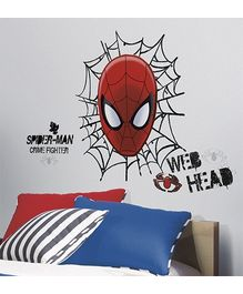 RoomMates Spiderman Web Head Giant Wall Decal - 21 Decals