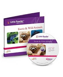 Brilliant Kids Little Reader Exotic and Wild Animals - English