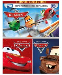 Sony Planes Cars and Cars 2 DVD - 3 Movie Collection