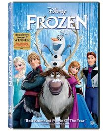 Sony Frozen Movie DVD