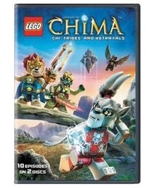 Sony Lego Legends Of Chima Chi Tribes And Betrayels DVD - English