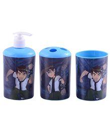 Ben 10 3D Bathroom Set - 3 Pieces