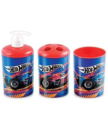 Hotwheels 3D Bathroom Set - 3 Pieces