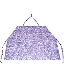 Ireeya's Nursing Cover Purple Garden