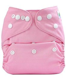 Bumberry Pocket Cloth Diaper With One Microfiber Insert - Pink