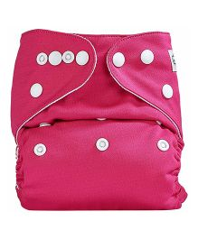 Bumberry Pocket Cloth Diaper With One Microfiber Insert - Rosepink