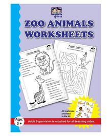 Creativity 4 Tots Zoo Animals Worksheets - 24 Pages