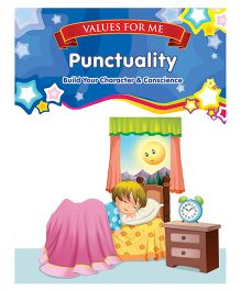 Values For Me Punctuality Moral Story Book - English