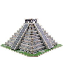 Robotime 3D Wooden Mayan Pyramid Puzzle - 117 Pieces