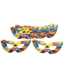 DC Comics Superman Paper Eye Masks Pack Of 10 (Color May Vary)