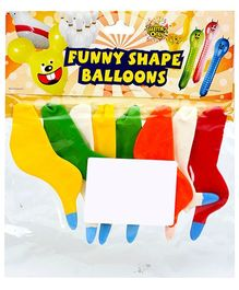 Celeberations! Rubber Play Balloons Funny Bird Shape Small - 8 Balloons