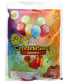 Celeberations! Rubber Play Balloon - 50 Pieces