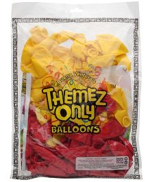 Themez Only Rubber Play Balloon - 50 Pieces