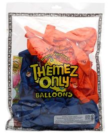 Themez Only Superman Rubber Play Theme Balloons - 50 Balloons