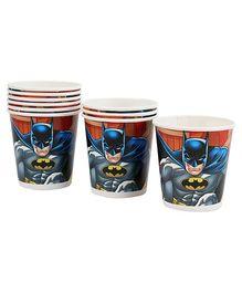 DC Comics Batman Paper Cups - Set of Ten