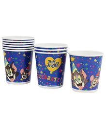 Tom and Jerry Paper Cups - Set of Ten