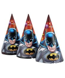 Batman Paper Hats - 8 Units