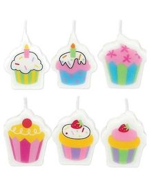 Wanna Party Mini Molded Sweet Stuff Candles - 6 Pieces