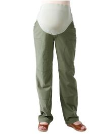 Morph Casual Green Maternity Pant