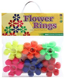 Buddyz Flower Rings - 12 Pieces