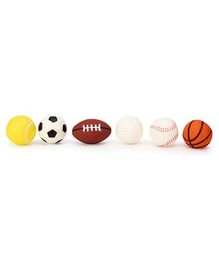 Speedage Squeezy PVC Ball Family Set - 6 Balls
