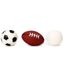 Speedage Ball Family PVC Squeezy Ball - Pack Of 3