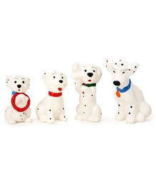 Speedage Dalmation PVC Dog Family - Set of Four