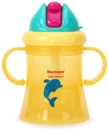 Morisons Baby Dreams Aqua Straw Sipper Yellow