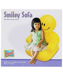 Suzi Smiley Sofa - Yellow
