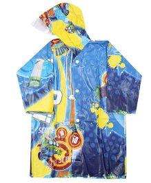 Disney Toy Story 3 Jingle Print Raincoat - Blue