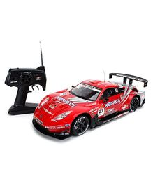 MJX Remote Controlled Nissan Fairlady Z Super GT 500 - Red